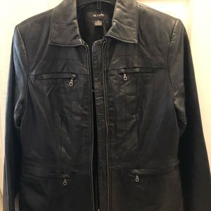Black Leather Jacket. Like New. Great Condition